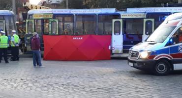 Makabryczny wypadek na Placu Staszica
