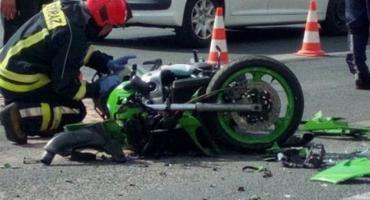 Pod Wrocławiem zginął motocyklista