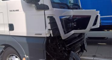 Kolizja pięciu Tirów zablokowała autostradę A4 w strone Wrocławia