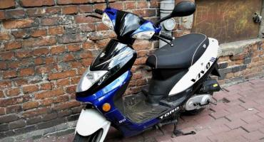 Kryminalni z wrocławskiego Śródmieścia zatrzymali sprawce i odzyskali skradziony skuter