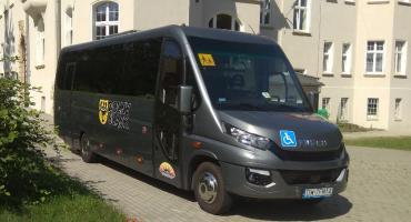 Nowy autobus dla uczniów z niepełnosprawnościami