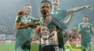 Bardzo efektowne derby Dolnego Śląska. Śląsk Wrocław - Zagłębie Lubin 4:4