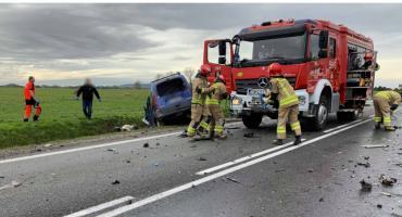 Śmiertelny wypadek na drodze Wrocław - Jelenia Góra