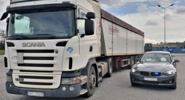 Pijany kierowca TiRa na autostradzie A4