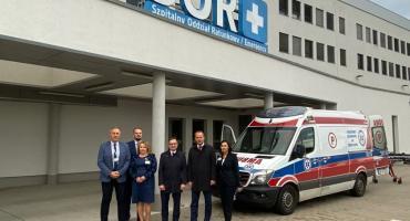 Ponad 600 tys. na modernizacje Szpitalnego Oddziału Ratunkowego w Dolnośląskim Szpitalu Specjalistycznym im. Marciniaka we Wrocławiu