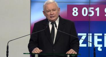 To najlepszy dzień w historii naszej partii - J. Kaczyński o wynikach wyborów