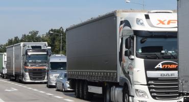 Duży ruch i korki na autostradzie A4 pod Wrocławiem