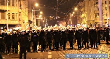 Zarzuty łącznie usłyszało 14 osób zatrzymanych w związku z naruszeniem prawa podczas wrocławskiego marszu niepodległości