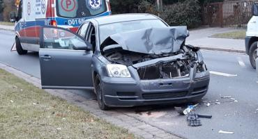 Wypadek na Kołobrzeskiej we Wrocławiu