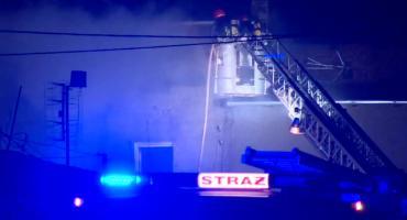 Tragiczny pożar domu koło Nysy. Zginęły dwie osoby