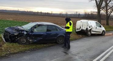 Tragiczny wypadek na drodze Wrocław - Strzelin. Zginęła jedna osoba.