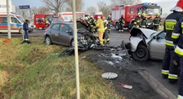 Tragiczny wypadek na krajowej ósemce pod Wrocławiem
