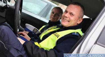 Policyjny pilotaż mamy zakończył się szczęśliwymi narodzinami małego Leona