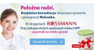 Położna radzi w Rossmannie