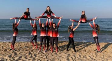 Zespół akrobatyczny Quick Flik na Mistrzostwach Polski Fit - Kid wGdańsku [FOTO]