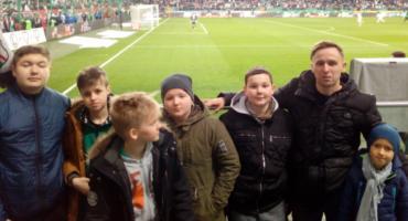 Uczniowie z PSP W Mazowszanach na meczu Legii Warszawa [FOTO]