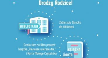 """Gminna Biblioteka Publiczna przystąpiła do  programu """"Wielka książka mały człowiek"""""""