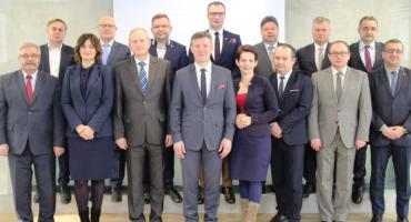 Spotkanie wójtów i burmistrzów ze starostą radomskim
