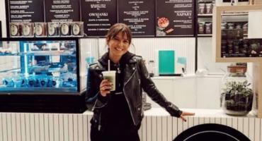 Anna Lewandowska otworzyła swój pierwszy sklep w Warszawie