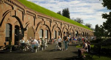 W XIX-wiecznych koszarach powstaje nowe miejsce spotkań. Fort 8 już wkrótce zacznie tętnić życiem.