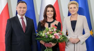Agnieszka Radwańska odznaczona przez Prezydenta Andrzeja Dudę