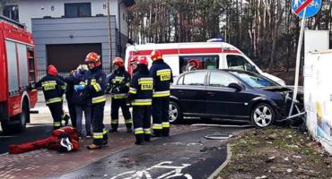 Trzy osoby ranne w wypadku [ZDJĘCIA]