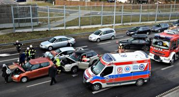 Jedna osoba ranna w wypadku na S7 [ZDJĘCIA]