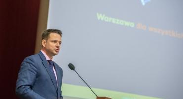 Rafał Trzaskowski: - Nie będę tolerował nawoływania do nienawiści.