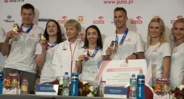 Mistrzowie wrócili z halowych mistrzostw Europy w Glasgow [ZDJĘCIA]