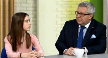 A dlaczego? Czyli dzieci zadają pytania politykom. Jak poradził sobie Ryszard Czarnecki?