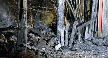 Pożar składowiska [ZDJĘCIA]