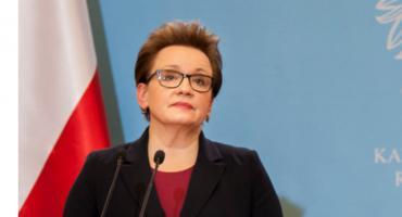 Anna Zalewska: - Nauczycielom wynagrodzenie za czas strajku się nie należy.