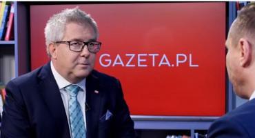 Ryszard Czarnecki w obronie senatora Biereckiego