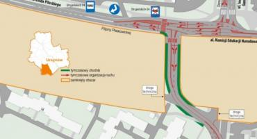 Zmiany ruchu drogowego w trzech dzielnicach