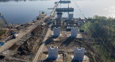 Budowa mostu Południowego: przygotowania do ewakuacji