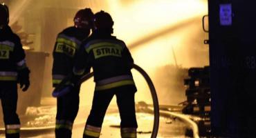 Pożar wieżowca w Warszawie [ZDJĘCIA]