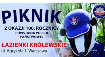 Piknik z okazji 100 lecia powstania Policji