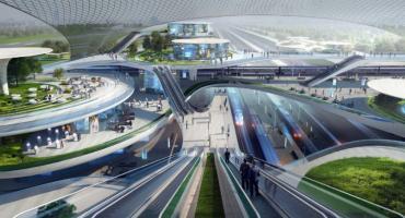 Pokazano pierwsze koncepcje projektowe Centralnego Portu Komunikacyjnego