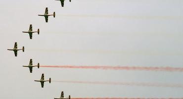 Próba generalna przed świętem lotnictwa