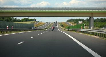 Problemy na na krajowej siódemce - między Łomiankami a Warszawą