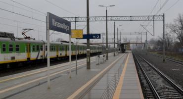 Na stacji PKP Warszawa - Okęcie nie działająwindy