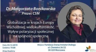 Rozmowy Dialogowe z dr Małgorzatą Bonikowską