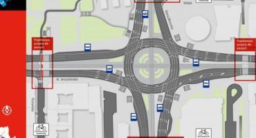 Co z planowanymi przejściami na rondzie Dmowskiego?