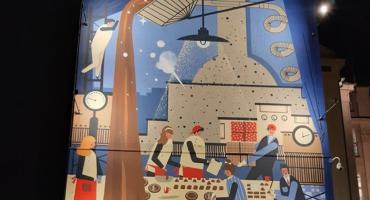 Odsłonięto mural Wedla