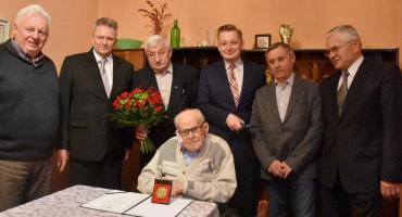 102 urodziny kpt. Władysława Bąbika z Dziecinowa