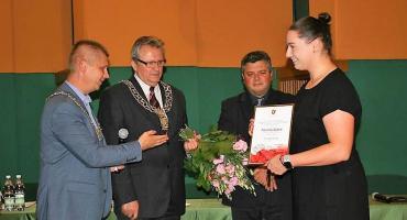 Mistrzyni Paulina Guba doceniona przez władze powiatowe