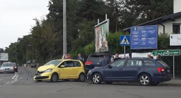 Feralne skrzyżowanie ul. Filipowicza i Armii Krajowej