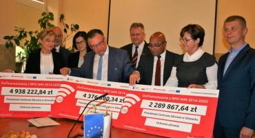 Ponad 11,6 mln dofinansowania na nowoczesny sprzęt dla szpitala i przychodniw Otwocku