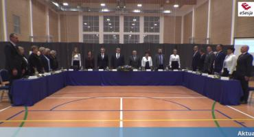 Inauguracja samorządu w gminie Wiązowna