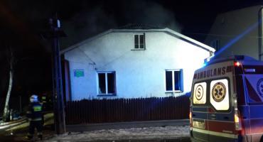 Pożar domu w Wólce Mlądzkiej